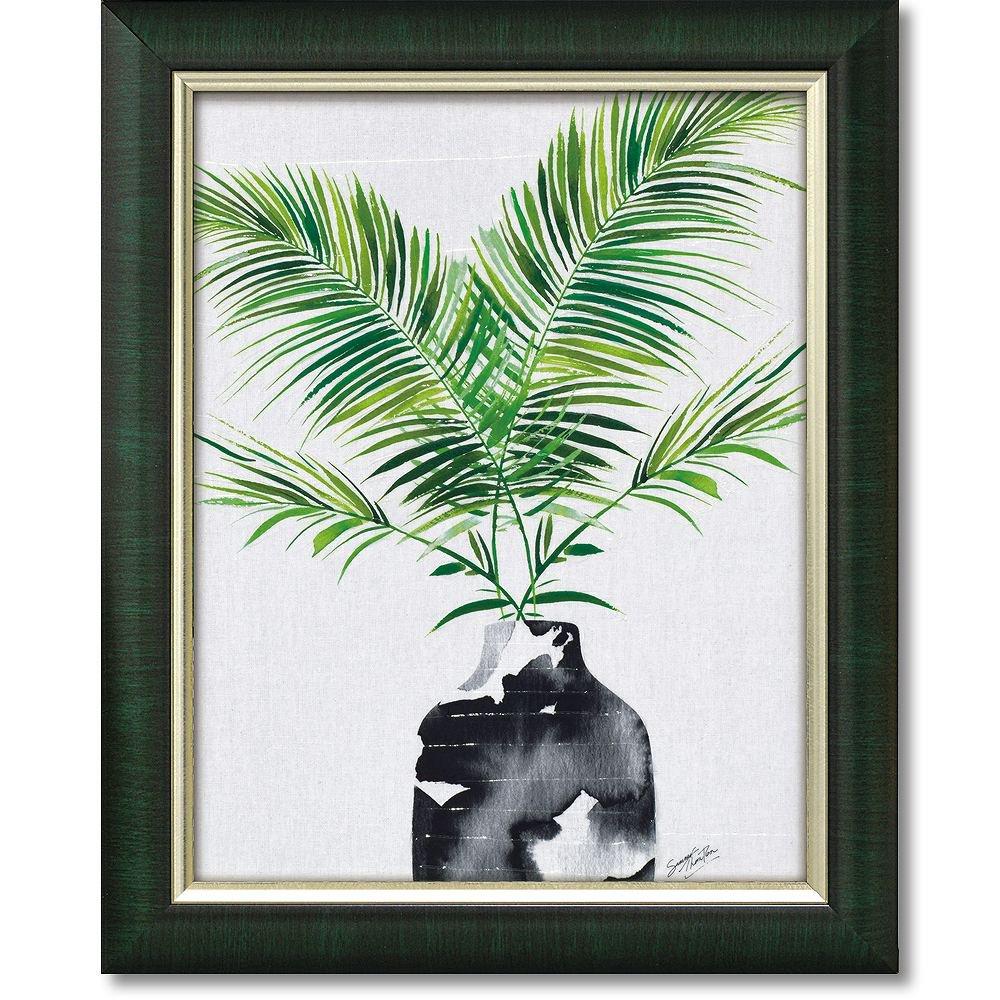 絵画 サマー ソーントン「マジェスティ パーム プラント」 インテリア 額入り 額装込 風景画 植物 壁掛け リーフ 絵 おしゃれ アート フレーム ギフト グリーン プレゼント 静物画 リビング