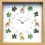 《掛け時計》ディスプレイ クロック キリン