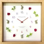 《掛け時計》ディスプレイ クロック ウサギ