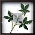 《掛け時計》F-style クロック パキラ グラブラ