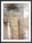 《絵画》抽象画 ブラウン アンド ベージュ  アブストラクト アート ペイント