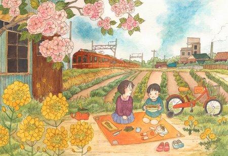 《情景画》おままごと(坂道なつ)(レンタル対象)