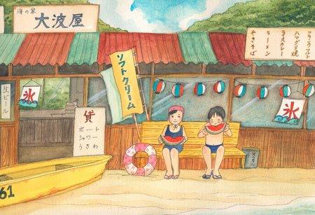 《情景画》海の家(坂道なつ)(レンタル対象)