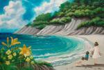 《情景画》浜辺(坂道なつ)(レンタル対象)