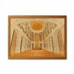 本格木工細工 木はり絵手作りキット「ヴェルサイユ宮殿」 ハードレベル ゆうパケット 額なし 絵画 アート