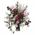 アートフラワー ファーストローズ 〔テーブルタイプ〕 インテリア 部屋に飾る 花 おしゃれ ギフト 華やか 御祝 造花 プレゼント リビング 玄関 キッチン フラワー アレンジメント