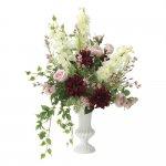 アートフラワー ジェニック 〔テーブルタイプ〕 インテリア 部屋に飾る 花 おしゃれ ギフト 華やか 御祝 造花 プレゼント リビング 玄関 キッチン フラワー アレンジメント