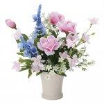 アートフラワー スターフラワー 〔テーブルタイプ〕 インテリア 部屋に飾る 花 おしゃれ ギフト 華やか 御祝 造花 プレゼント リビング 玄関 キッチン フラワー アレンジメント