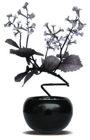 《人工観葉植物・造花》F-style Vase Shiso(シソ)