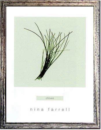 《ハーブ アートフレーム》Nina Farrell Chives(チャイブ)