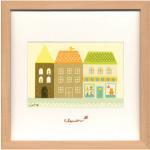 《アートフレーム》clover / Sachiko Mukai Square Frame691(向井さち子)(ゆうパケット)