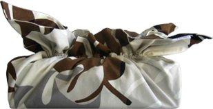 《ティッシュカバー》CHOU tissue cover Monstera/brown gray(モンステラ/ブラウン グレー)(ゆうパケット)