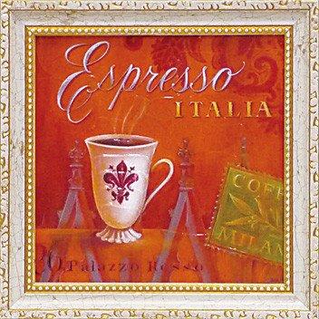 ミニ ゲル アートフレーム アンジェラ スターリング 「エスプレッソ・イタリア」(ゆうパケット)