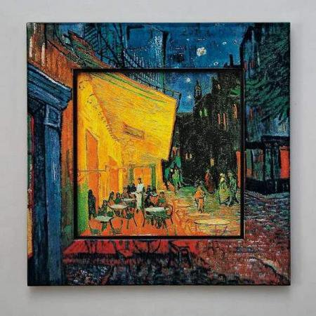 ビッグアート 名画ハイグロスシリーズ ゴッホ「夜のカフェテラス」
