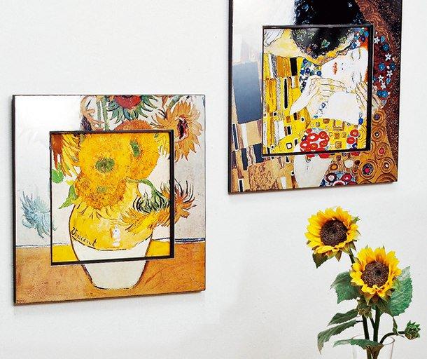 ビッグアート 名画ハイグロスシリーズ クリムト 「フラワーガーデン」