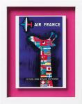 フレンチ アド アート シリーズ サヴィニャック 『AIR FRANCE』