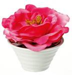 《造花・花瓶》クリエイティブフラワーアート ローズ(ピンク)