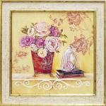 《絵画》フェリー ステファニア リネンとボタン