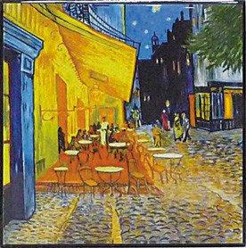 《名画》ハイグロス mini コレクションアート ゴッホ「夜のカフェテラス」