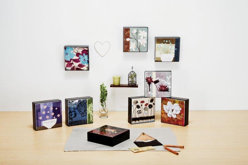 ハイグロス mini コレクションアート 「デザインガーベラ1」
