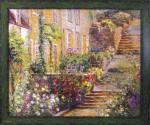 《絵画》ロンゴ パティオ ガーデン1
