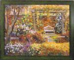 《絵画》ロンゴ パティオ ガーデン2