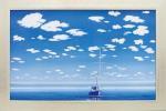 《絵画》ミッシェル バテュ 水色の季節