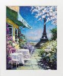 《絵画》マルコ マヴロヴィッチ パリのカフェ