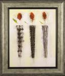 《絵画》マリリン ロバートソン 3つのバラ