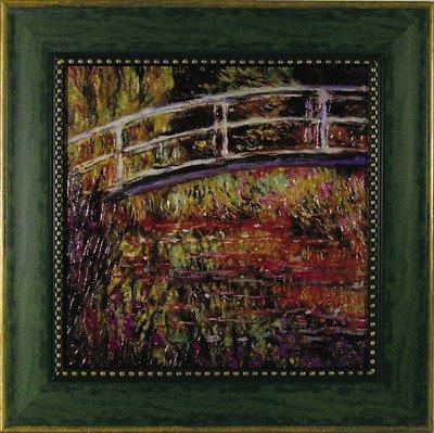 《名画》ミュージアム シリーズ モネ「日本風の橋」