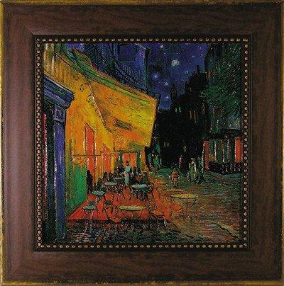 《名画》ミュージアム シリーズ ゴッホ「夜のカフェテラス」