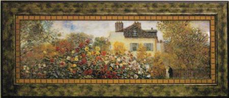 《名画》ミュージアム シリーズ LLサイズ モネ「庭園のアーチスト」