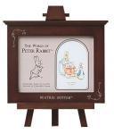 木製 ピーターラビットコレクション フォトフレーム 1ウィンドー・イーゼル付 ブラウン(ゆうパケット)