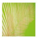 ウッド スカルプチャー アート Sサイズ/フェニックス/グリーン