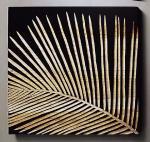 ウッド スカルプチャー アート フェニックスA/ブラック