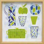 《絵画》ワイルドアップル スタジオ キッチン3