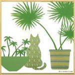 モダン キャンバスアート Y.P.デザイン スタジオ グリーンポットコレクション(A)