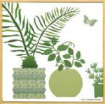 モダン キャンバスアート Y.P.デザイン スタジオ グリーンポットコレクション(C)