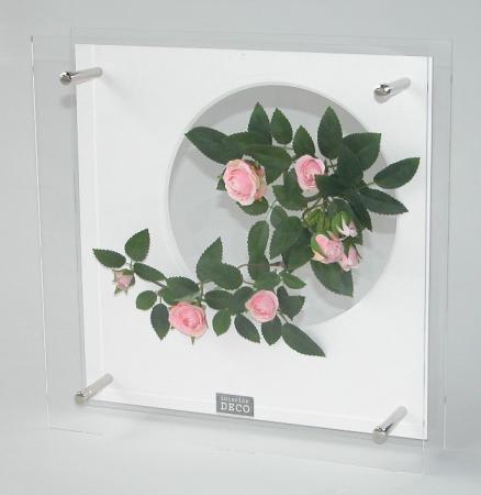 《フラワーフレーム》HEARTFUL PLANTS 0134(ローズキャンドル)