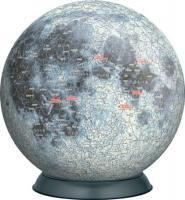 《ジグソーパズル》3D 月球儀540P