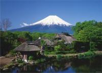 《ジグソーパズル》富士山 -忍野より望む-