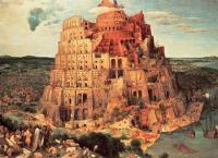 《ジグソーパズル》バベルの塔(ブリューゲル)