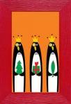 《絵画》ジュリアン・チャン ペンギン(ゆうパケット)