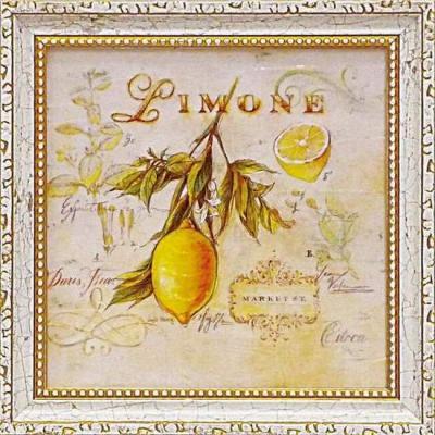 《ミニゲル アートフレーム》 アンジェラ スターリング 「トスカーナのレモン」(ゆうパケット)