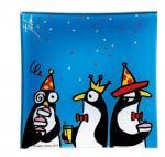 ジュリアン・チャン Animal King グラストレー ペンギン・パーティー(ゆうパケット)
