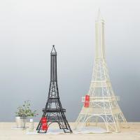 《ワイヤーアート》デコレーション タワー エッフェル Mサイズ(ブラック)