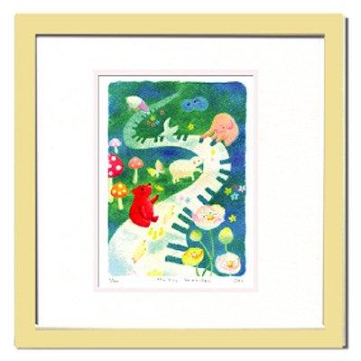 《水彩画・絵画》Ryo Music Garden