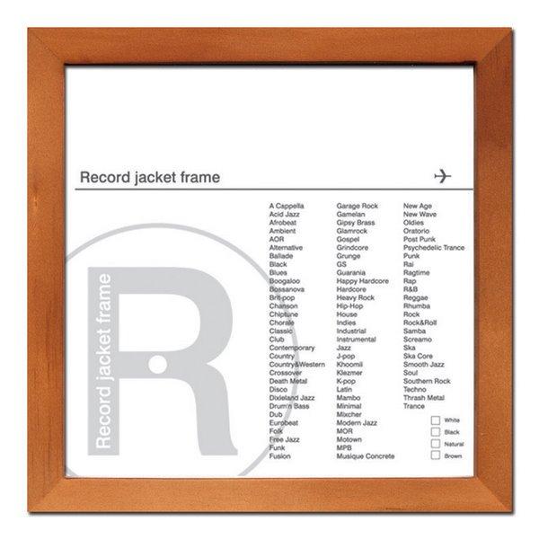 《レコードジャケットフレーム》Record Jackt Frame Brown
