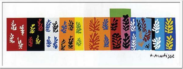 《アートフレーム》Henri Matisse Les velours(Silkscreen)