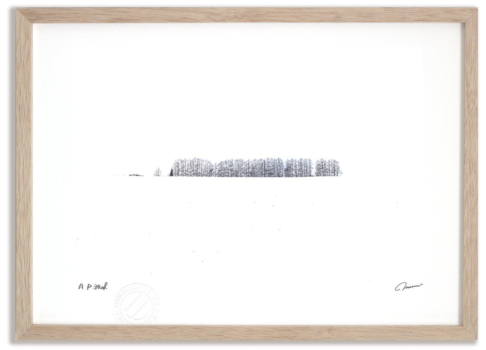 《アートフォト》マイルドセブンの丘2/美瑛町〔富良野・高橋真澄〕(レンタル対象)